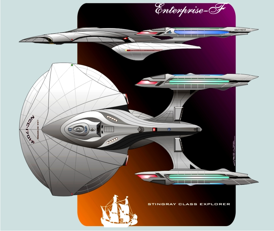 star trek future starship - photo #32