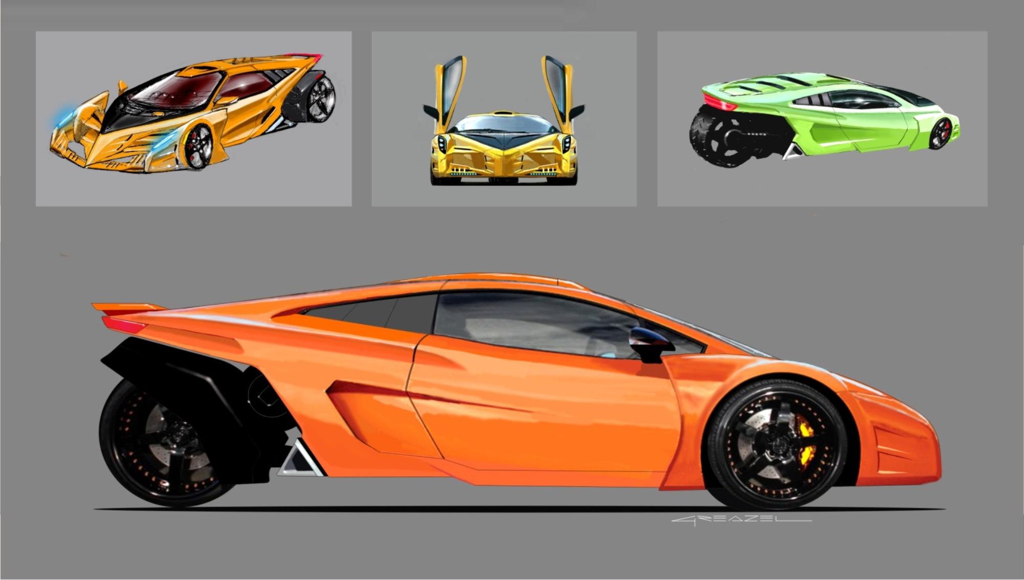 Greazel Design : Automotive Design OEM Concepts